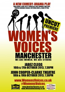 _WomensVoices_A3 poster Gold